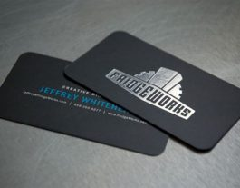 Stamped-Foil-Business-Card-with-Rouded-Corners